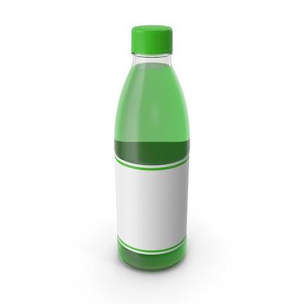 Green Juice Bottle