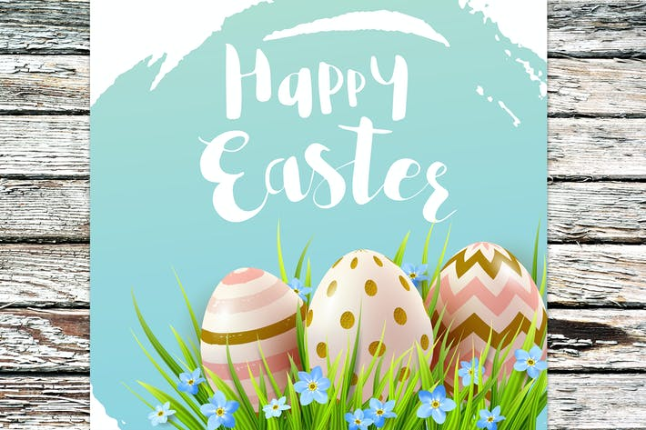 Thumbnail for Frühling Ostern Hintergrund