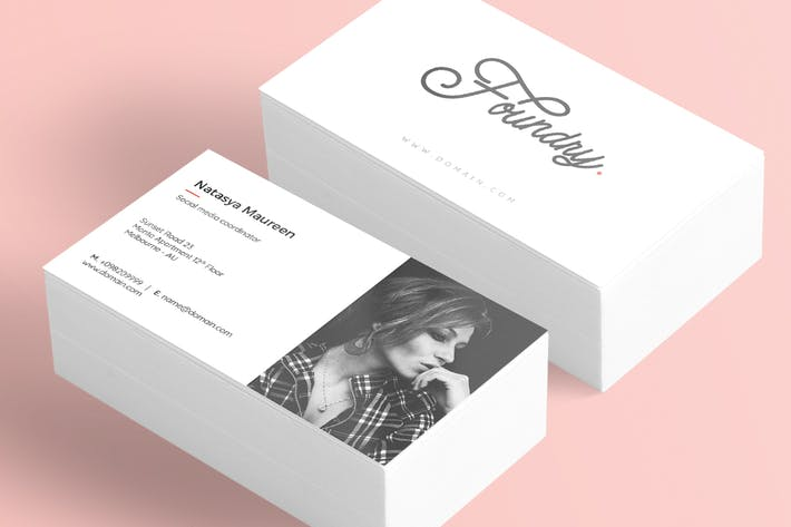 Cover Image For Foundry - Creative Business Card