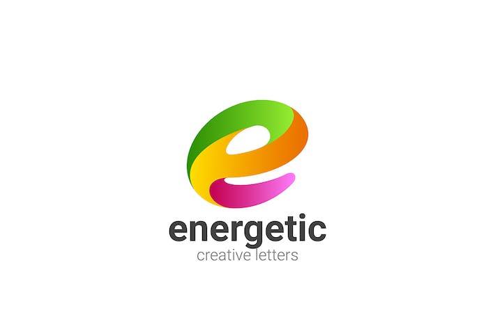 Letter E Logo Design Entertainment Digital Tech