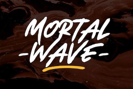 Mortal Wave - Fuente de pincel seco