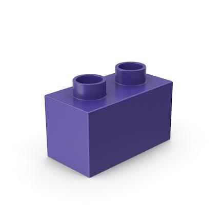 1x2 Toy Brick