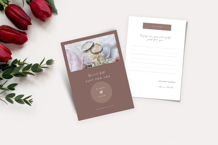 Cover Image For Wedding Gift Cards