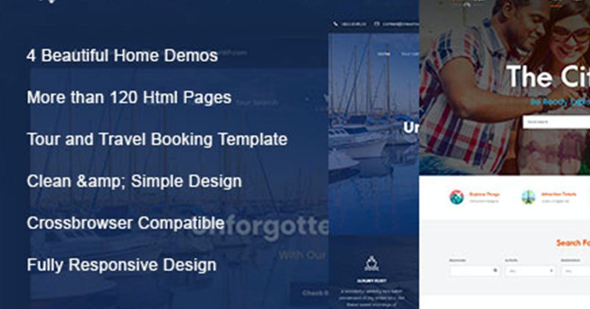 Download Travel Tour - Travel, Tour HTML Template by max-themes