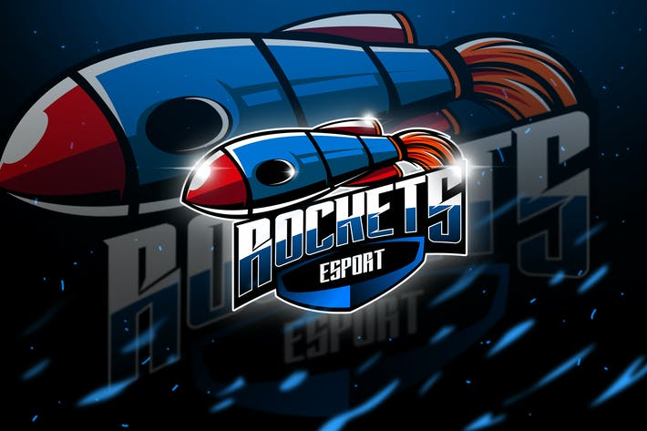 Thumbnail for Rockets - Mascot & Esport Logo