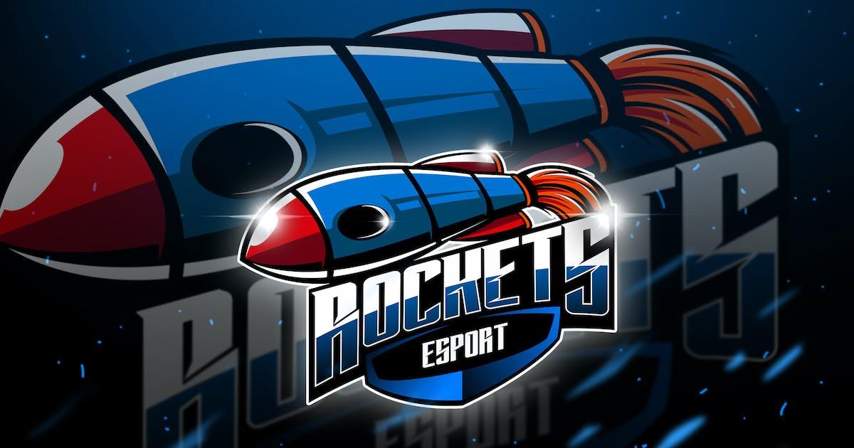 Download Rockets - Mascot & Esport Logo by aqrstudio