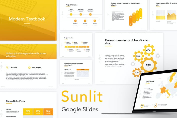 Thumbnail for Sunlit Google Slides Templates
