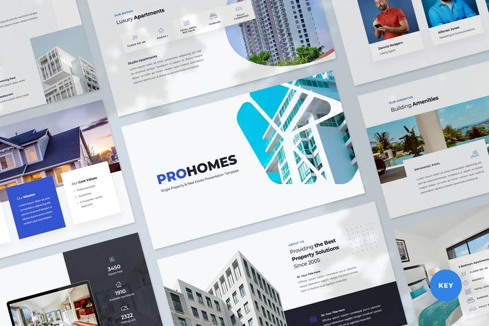Property & Real Estate Keynote Template