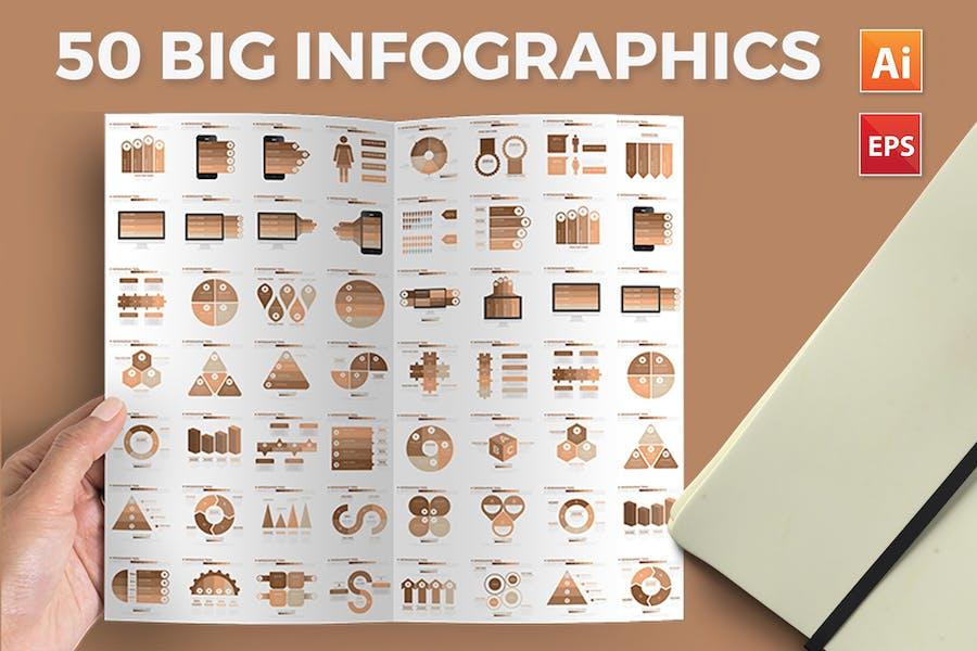 50 Infographics Design