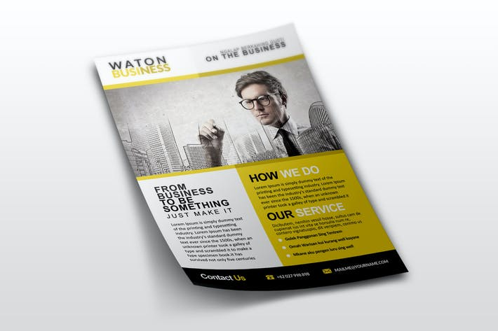 Thumbnail for Waton Business Flyer Template