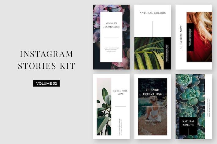 Thumbnail for Instagram Stories Kit (Vol.32)