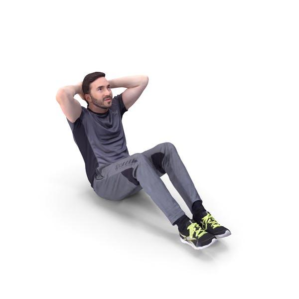 Sports Man Posed
