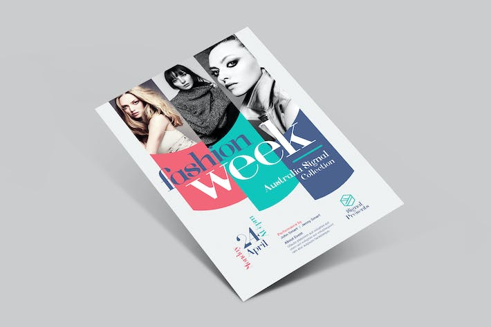 Thumbnail for Fashion Week Flyer