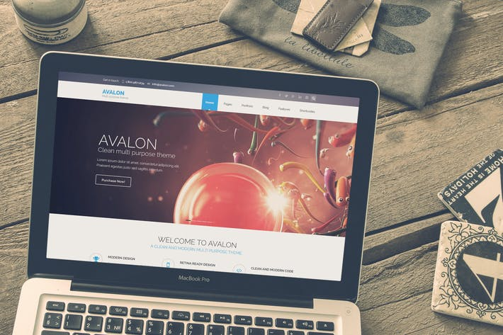 Thumbnail for Avalon - Commerce Multipurpose HTML Theme