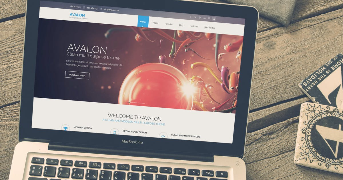 Download Avalon - Commerce Multipurpose HTML Theme by xvelopers