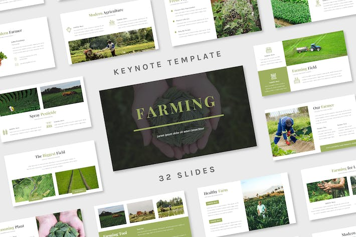 Thumbnail for Farming - Keynote Template