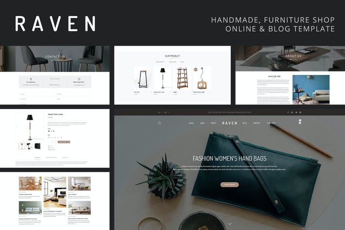 Thumbnail for Raven - Handmade and Furniture Online Shop