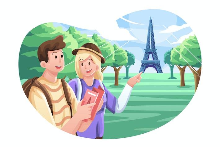 Ilustración Turística