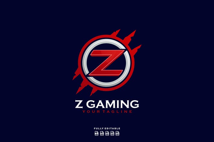 Thumbnail for Z Gaming Emblem Logo
