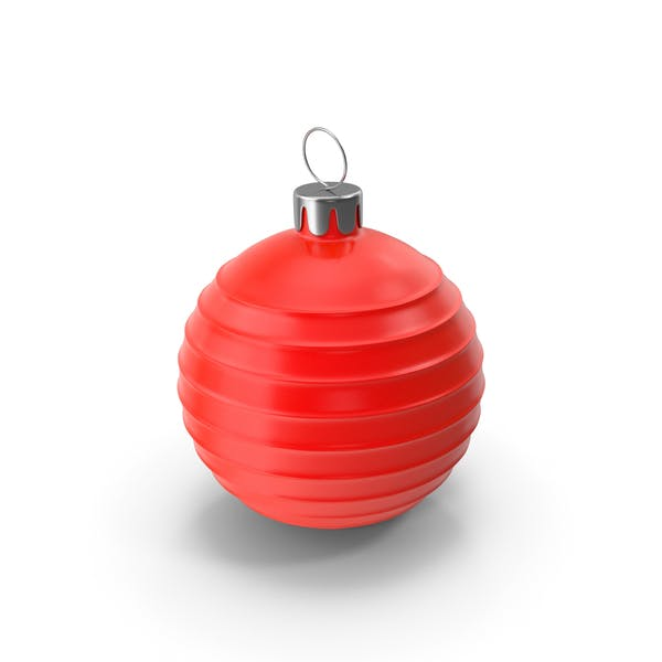 Christmas Tree Toy Red