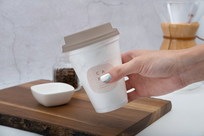 Thumbnail for Kaffeetasse Mockup