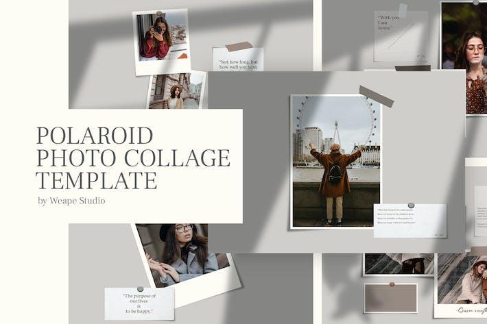 Polaroid Photo Collage