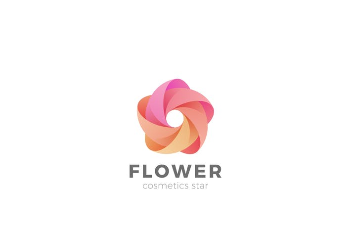 Thumbnail for Logo Flower Star abstrait Looped Infinity