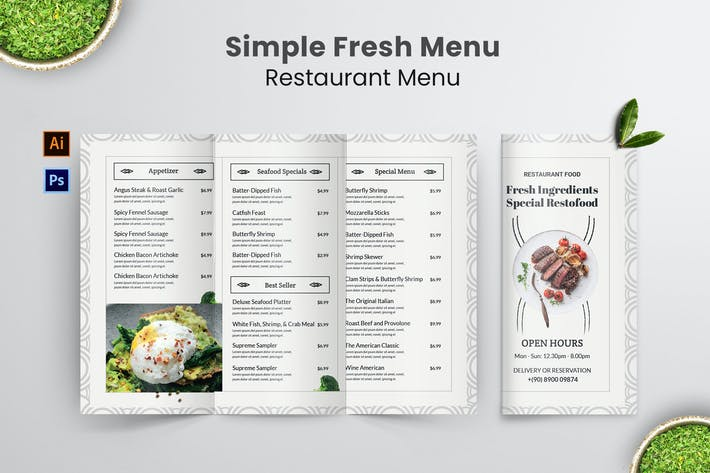 Thumbnail for Menu Simple Menu