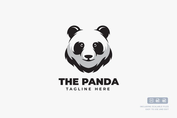 Thumbnail for Panda - Modèle de conception de Logo