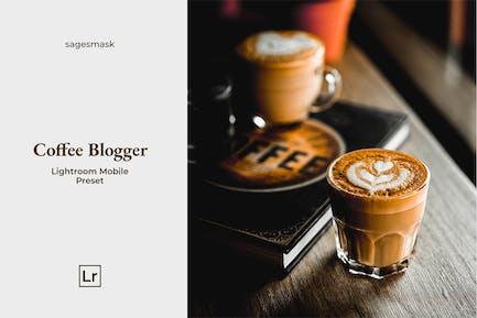 Кофейный блогер Lightroom Mobile пресет