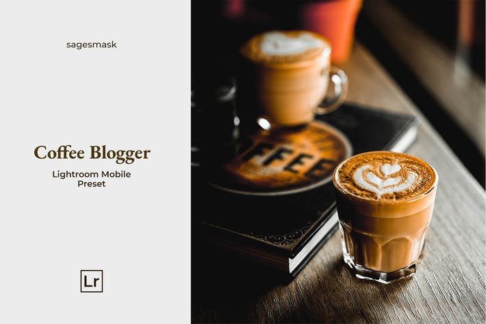 Thumbnail for Coffee Blogger Lightroom Mobile Preset