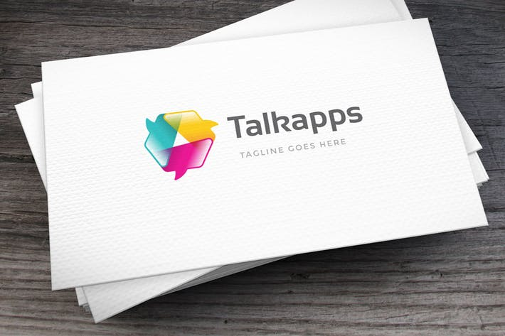 Thumbnail for Open Talks Logo Template