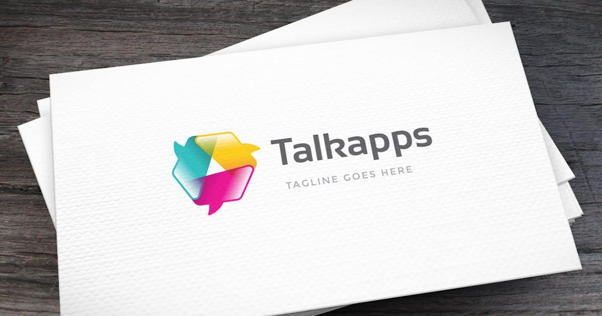 Download Open Talks Logo Template by empativo