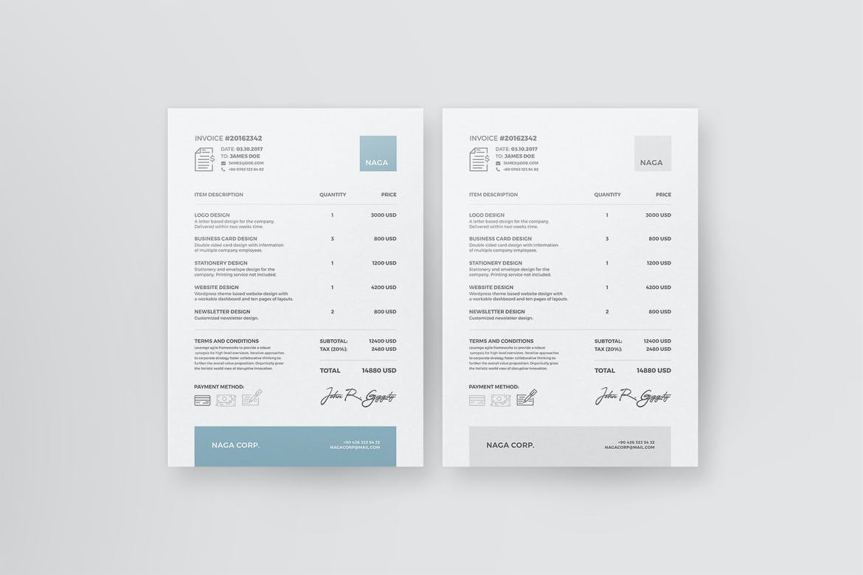 Naga - Invoice Template