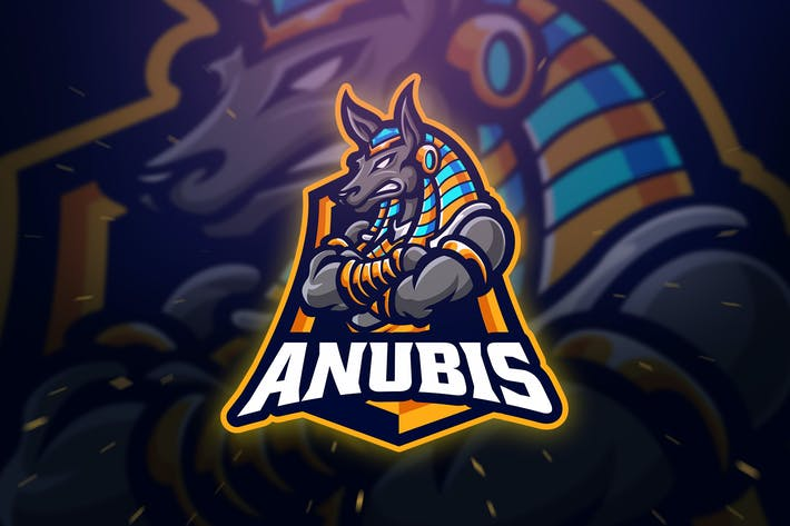 Cover Image For Anubis Sport and Esport Logo Template