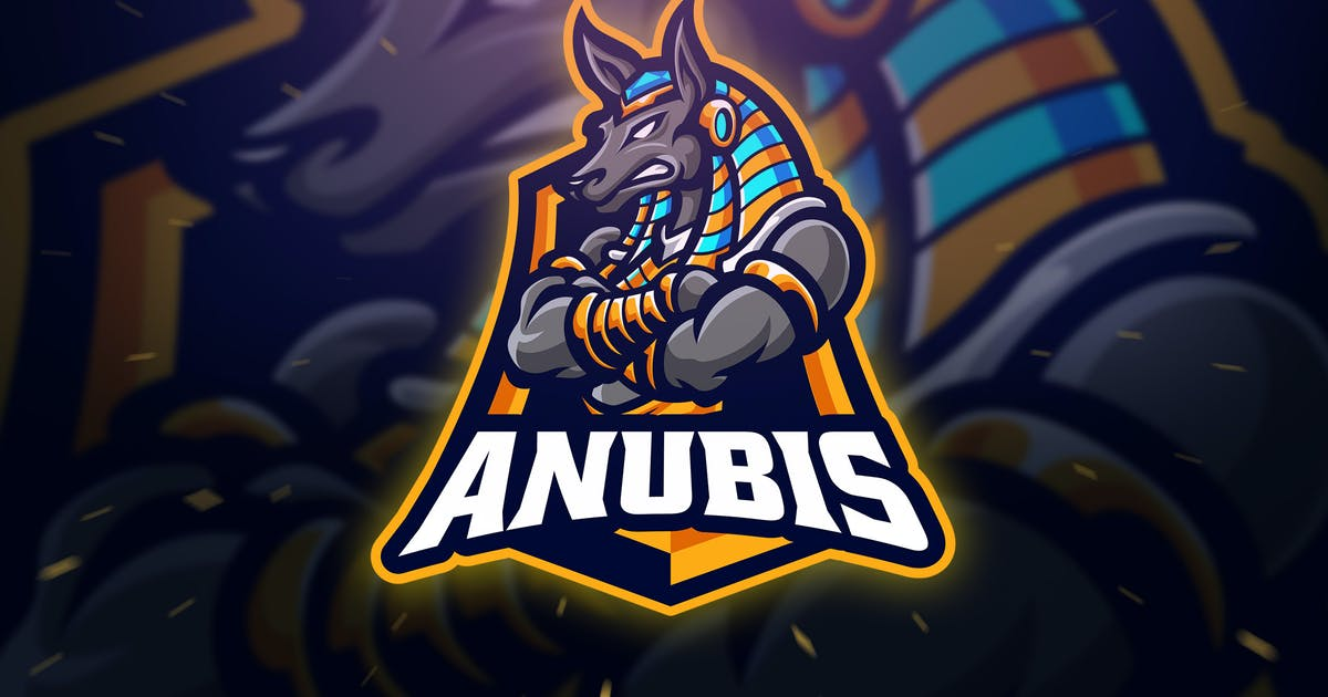 Download Anubis Sport and Esport Logo Template by Blankids