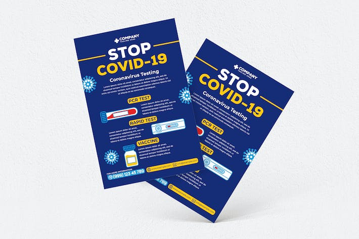 Thumbnail for Stop Covid-19 Flyer