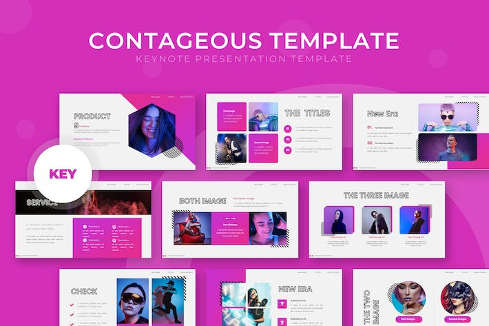 Thumbnail for Contageous - Keynote Template