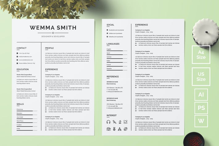 Thumbnail for Resume Template 18