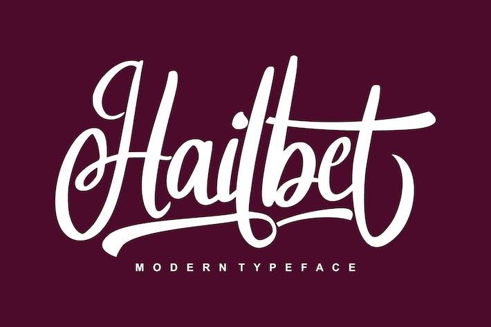 Thumbnail for Hailbet Modern Typeface