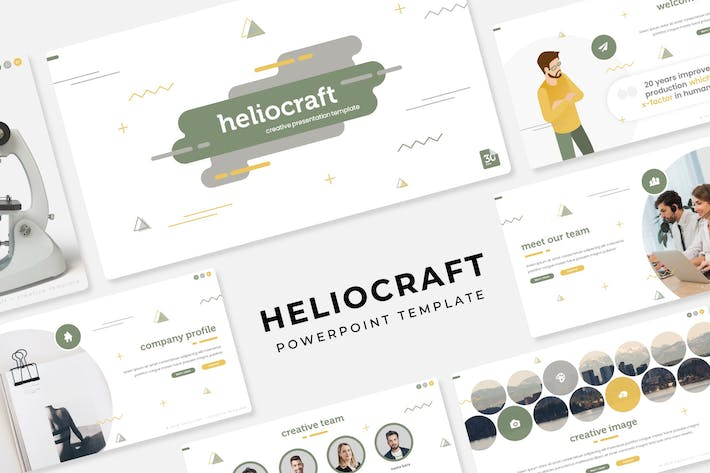 Thumbnail for Heliocraft - PowerPoint Template