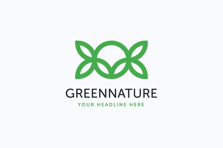Thumbnail for Green Nature Logo Template