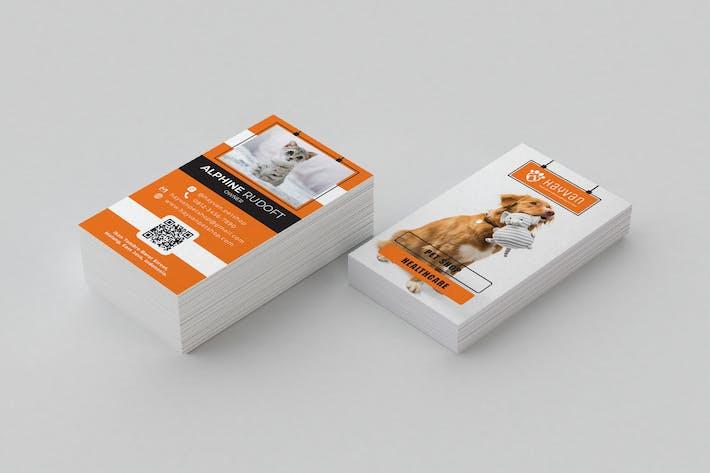 Pet Shop Petcare Business Card