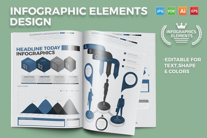 Cover Image For Infographics Elements