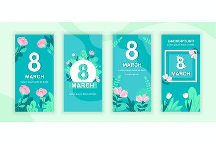 Womens Day Instagram Stories Social Media Template