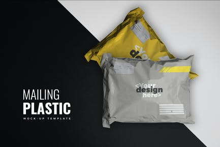 Mailing Plastic Mockup