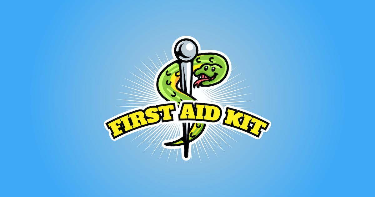 Download first aid kit - Mascot & Esport Logo by aqrstudio