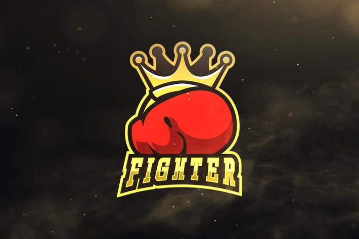 Thumbnail for Fighter Sport and Esports Logos