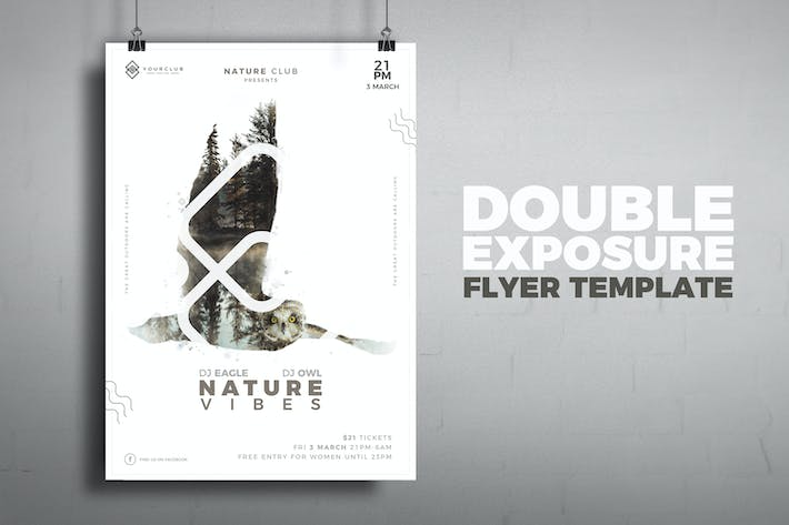Cover Image For Modern Poster Template