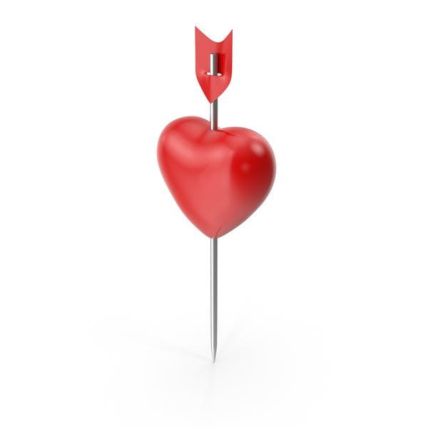 Thumbnail for Heart Push Pin